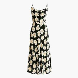 J Crew Collection | Velvet Floral Midi Dress